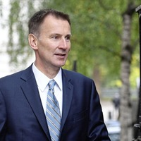 Jeremy Hunt visits Singapore after hailing example for post-Brexit Britain
