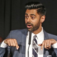 Hasan Minhaj reacts after Netflix pulls episode of his show in Saudi Arabia