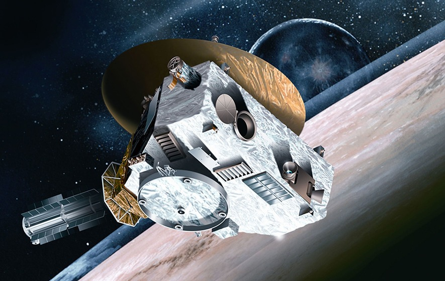 New Horizons mission reveals entirely new kind of world