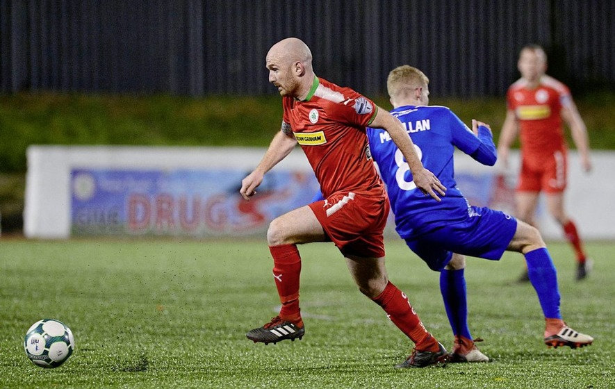 Cliftonville players must shoulder more responsibility to get out of rut:  Ryan Catney - The Irish News
