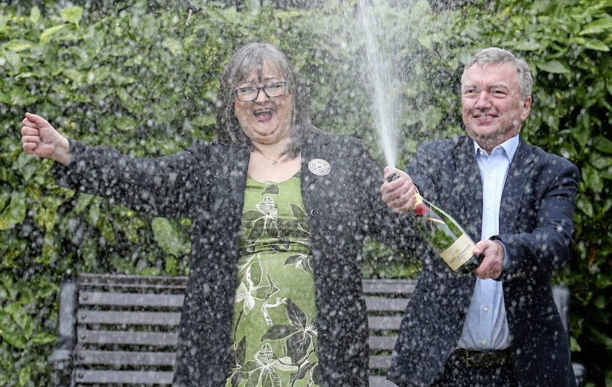 NI couple to go public as £114.9m EuroMillions winners