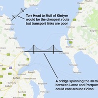 `Bridge to Scotland was Simon Coveney's idea', claims Boris Johnson