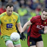 Martin McElhinney powers Donegal to victory over inexperienced Down