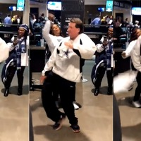 Dallas Cowboys fan's dance moves take the internet by storm