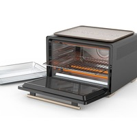 Smart countertop oven identifies food and cooks it for you