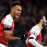Pierre-Emerick Aubameyang responds perfectly to winning Arsenal player award