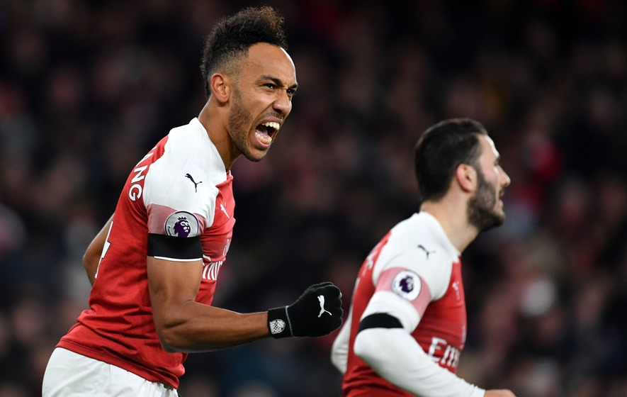Pierre-Emerick Aubameyang responds perfectly to winning Arsenal player award