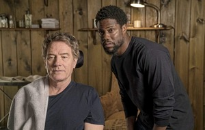 The Upside stars Bryan Cranston and Kevin Hart on acting, politics, and quadriplegia