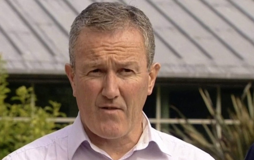 Sinn Féin negotiator Conor Murphy