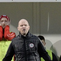Cliftonville boss Barry Gray survives the chop - and is confident of turning the corner