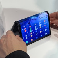 Foldable smartphone and table tennis robot draw crowds as CES opens