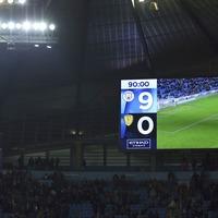 Social media reacts to Man City's 9-0 Carabao Cup demolition of Burton
