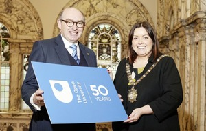 The Open University begins 50th anniversary celebrations