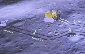 China broadcasts 'thrilling' pictures from rover on far side of moon