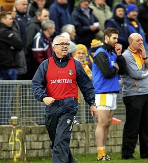 New Antrim boss Neal Peden looks ahead to Kehoe Cup semi-final clash with Kildare
