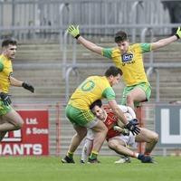 Rory Grugan's late point secures Armagh a McKenna Cup win over Donegal