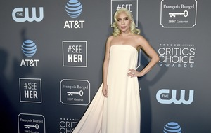 Lady Gaga and Emily Blunt stun on Critics' Choice Awards blue carpet
