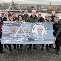 New route unveiled for Martin McGuinness Chieftain's Walk