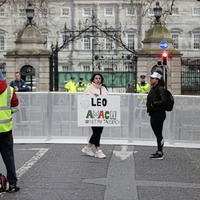 Protest against Taoiseach Leo Varadkar called off early due to low turnout