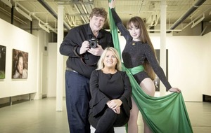 Belfast Exposed's Mervyn and circus artist Hannah get £5k Arts Council awards