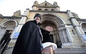 Belfast Cathedral Black Santa raises £160,000 for charity