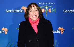 Didi Conn takes break from Dancing On Ice training for Cirque du Soleil premiere