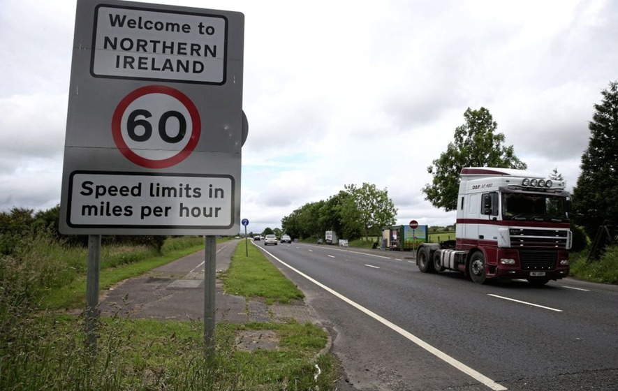 Irish border trade at all-time high as EU warns over no-deal Brexit