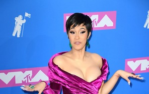 Cardi B hits back at critics who say she should stay out of politics