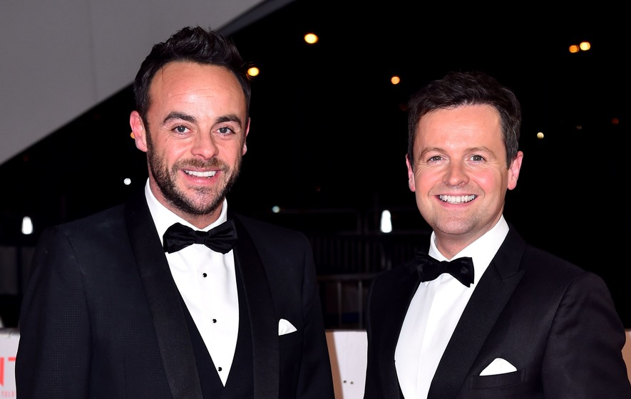 Ant McPartlin reunites with Declan Donnelly for first day back at work on BGT