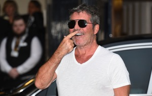 Simon Cowell has wardrobe mishap as he arrives at Britain's Got Talent