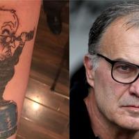 Leeds fan's 'spygate' Marcelo Bielsa tattoo helps him deal with depression