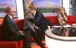 Pensioner breaks down as Dan Walker helps flypast tribute dream come true