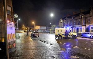 West Belfast security alert an 'elaborate hoax'