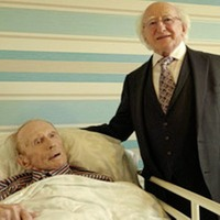 Poet Padraic Fiacc dies a week after visit by President Michael D Higgins