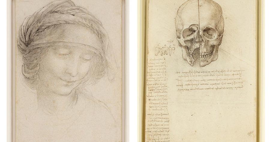 D Art Exhibition Uk : Exhibition of leonardo da vinci drawings opens at belfast