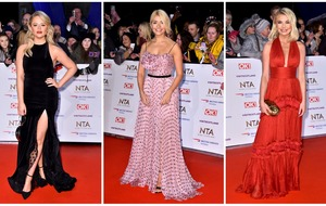I'm A Celebrity stars lead the glamour at the NTAs