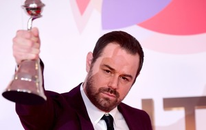Danny Dyer dedicates award to Harold Pinter in emotional speech