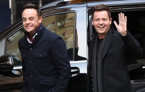 Ant McPartlin thanks Declan Donnelly as they claim TV award