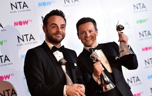 National Television Awards gets viewing boost as Ant and Dec secure another gong