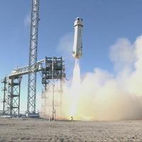 Jeff Bezos's Blue Origin shoots Nasa experiments into space on test flight