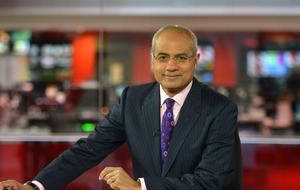BBC 'delighted' to welcome back George Alagiah after cancer battle