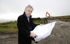 Anti-goldmine protester arrested near Dalradian mine