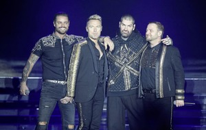 Boyzone play in Belfast for 'Thank You and Goodnight' farewell tour