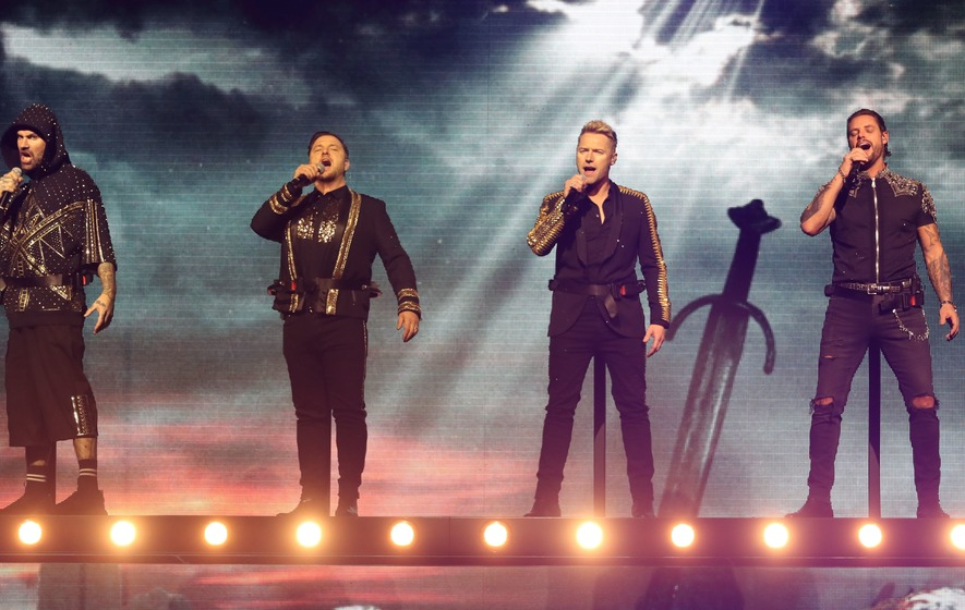 'It's been a hell of a ride,' says Ronan Keating as Boyzone bow out in Belfast