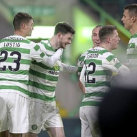 Oliver Burke scores twice as Celtic beat St Mirren while Rangers lose to Kilmarnock