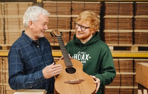 Northern Ireland guitar firm announces collaboration with Ed Sheeran