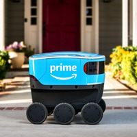Amazon has launched its own autonomous delivery robots on wheels