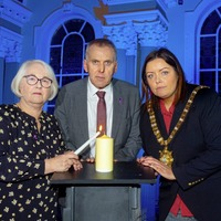 Holocaust memorial event held at Belfast City Hall
