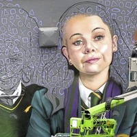 Derry Girls' Clare says huge mural is `so surreal'