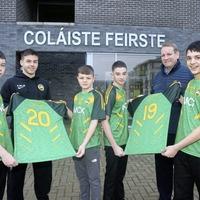 MCK sponsor kits for Colaiste Feirste